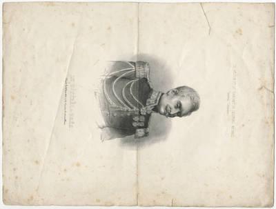 Louis Henri Decan. Generolas Žanas Baptistas de Brėja. 1848