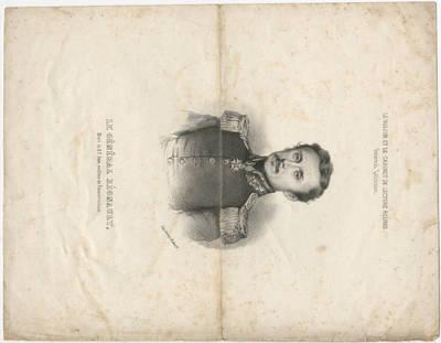 Louis Henri Decan. Generolo Reno portretas. 1825
