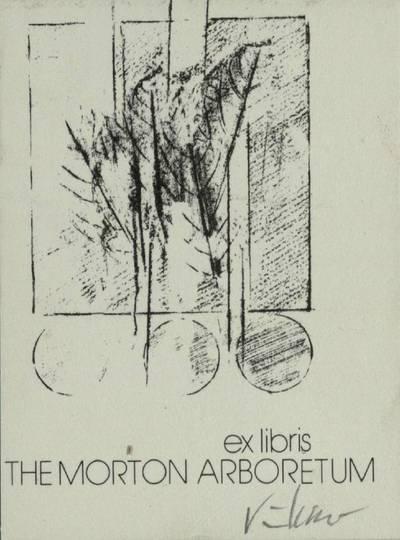 [Vytauto Osvaldo Virkau ekslibrisai]. ex libris THE MORTON ARBORETUM / Vytautas Osvaldas Virkau. - 1972
