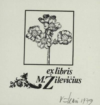 [Vytauto Osvaldo Virkau ekslibrisai]. ex libris M. Žilevičius / Vytautas Osvaldas Virkau. - 1979