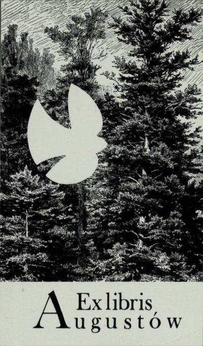 [Vytauto Osvaldo Virkau ekslibrisai]. Ex libris Augustow / Vytautas Osvaldas Virkau. - 1988