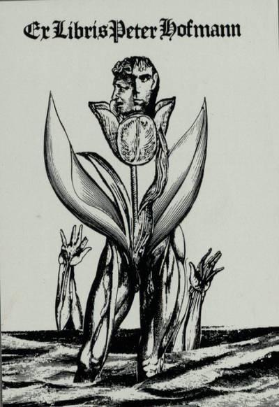 [Vytauto Osvaldo Virkau ekslibrisai]. Ex Libris Peter Hofmann / Vytautas Osvaldas Virkau. - 1990