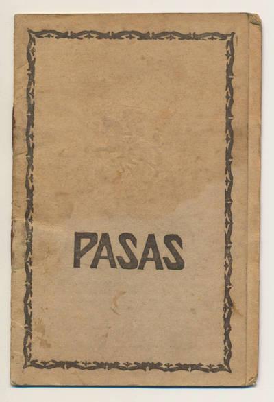 A. Povickienės pasas. 1920-08-14