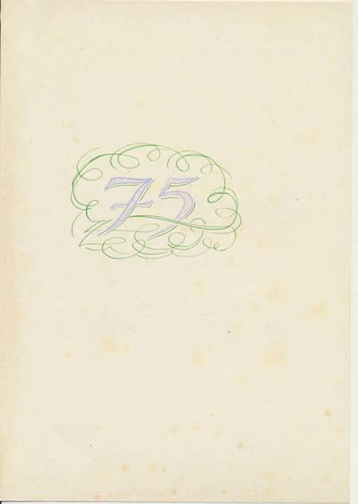 Sveikinimas B. Buivydaitei 75-ųjų gimimo metinių proga. 1970-12-08
