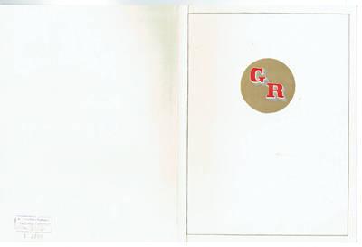 Garbės raštas, įteiktas B. Buivydaitei 80-mečio proga. 1975-12-09
