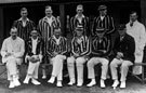 North Devon Cricket Club v M.C.C. August 18th and 19th 1922. The M.C.C. Team (For Full names and positions see card)