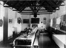 North Devon Cricket Club - Interior of Club House.
