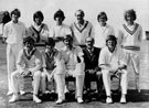 North Devon Cricket Club v Shrewsbury Saracens 1971.