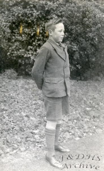 National Childrens Home, Newton. Roy Hudson