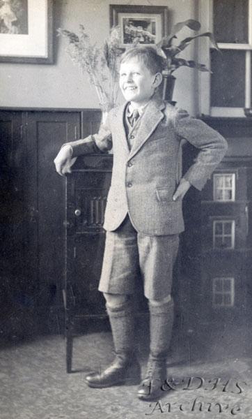 National Childrens Home, Newton. Stanley Graham.  BW