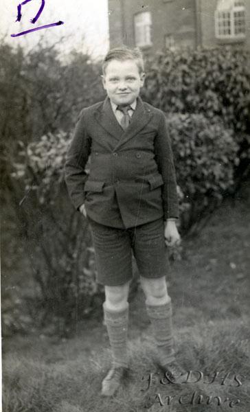 National Childrens Home, Newton. Kenneth Davies. WF