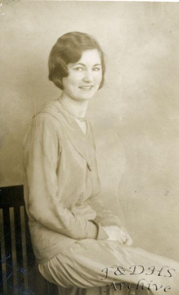 National Childrens Home, Newton. Violet Tranter
