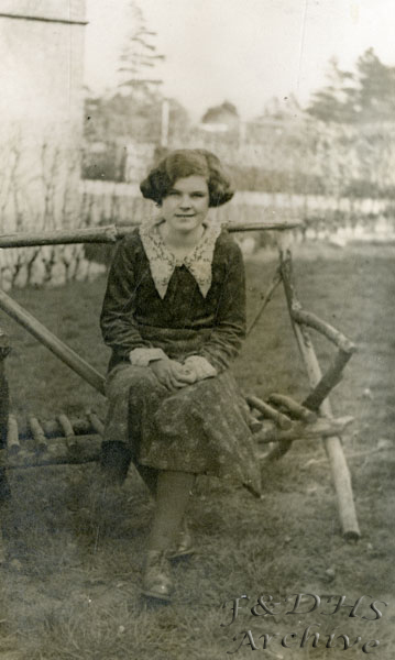 National Childrens Home, Newton. Elsie Broomfield.  MF