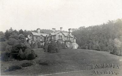 Foxhill Mansion, Tarvin Road, Frodsham.  25th. September 1904