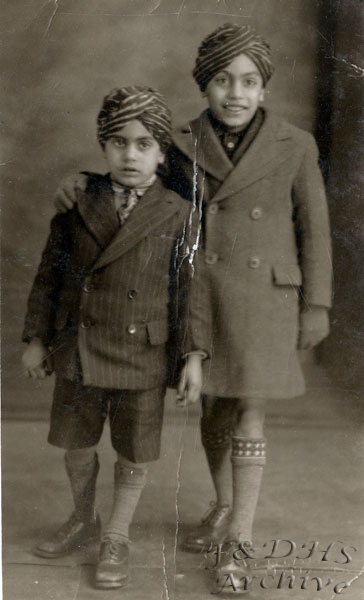 National Childrens Home, Newton.Sikh Brothers