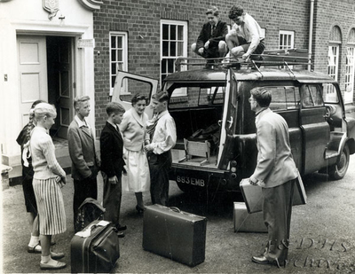 National Childrens Home, Newton.  Leaving Frodsham