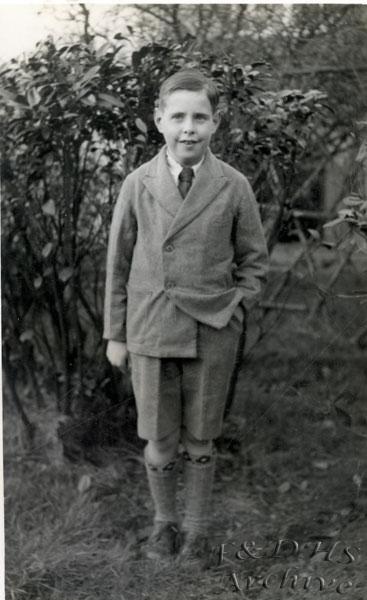 National Childrens Home, Newton. Unknown Boy