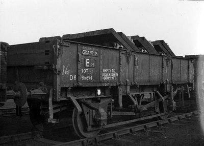 Ditton railway sleeper depot.