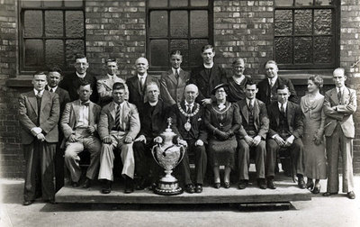 Widnes Rugby League Club when they beat Keighley 18-5 to win the Challenge Cup at Wembley in 1937.