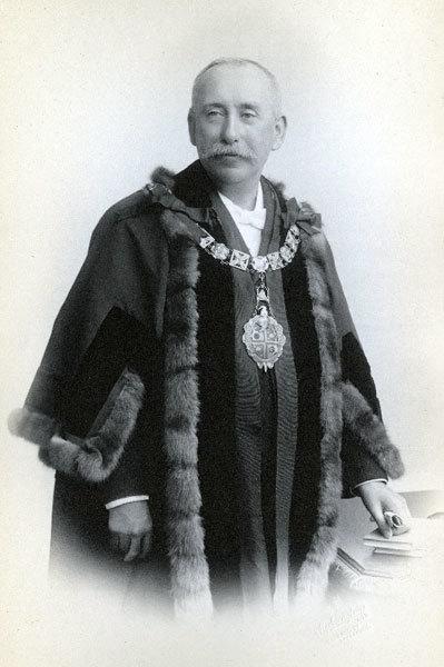 John Hedley, Mayor of Widnes, 1915, 1916.