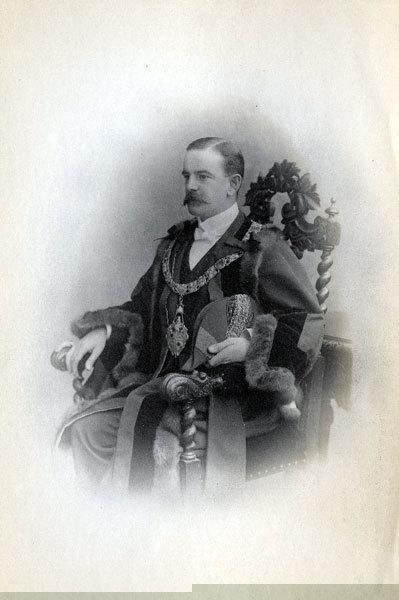 William Gossage, Mayor of Widnes, 1901, 1902.
