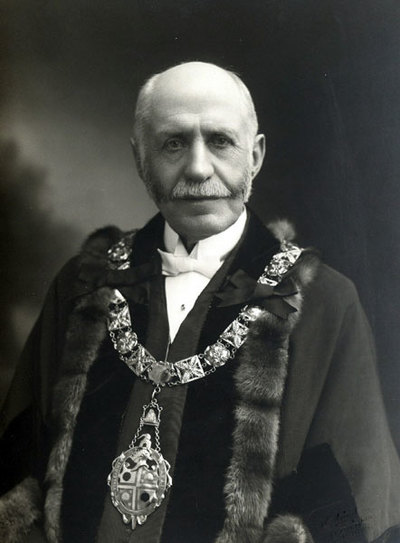 Edwin Wood, Mayor of Widnes, 1919, 1920.