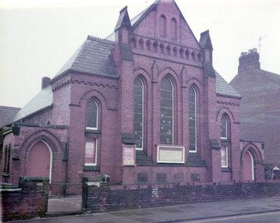 Baptist Chapel on Deacon Road, Widnes.