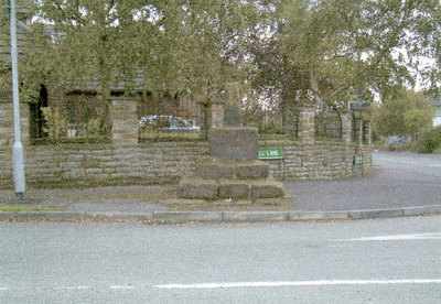Cronton Cross or mounting block. There were four crosses surrounding Farnworth Church, St Lukes, this one is to the north and Simms Cross was to the south.