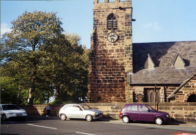 Exterior of St Lukes church, Farnworth.