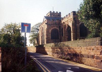 Exterior of St Lukes church