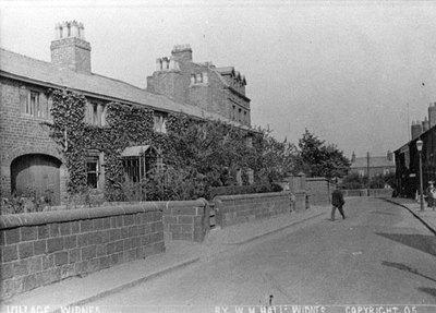 Appleton Road showing Appleton House