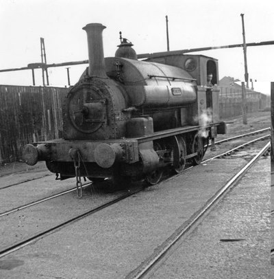 Locomotive Lucy which belonged to the West Bank Dock Estate Company