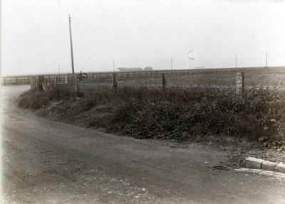 Johnsons Lane in Cuerdley, Primrose Valley Farm owned by John Millington possibly in the background.