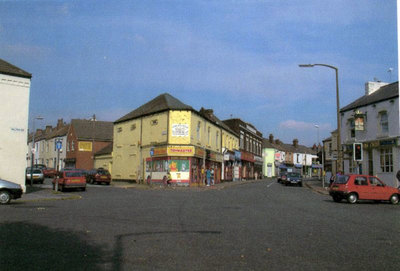Junction of Widnes Road, Milton Road, Frederick Street and Gerrard Street.