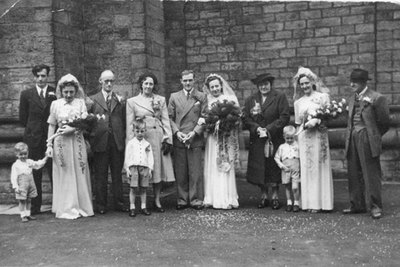 Wedding of Nellie Marchington and Eric Redfern