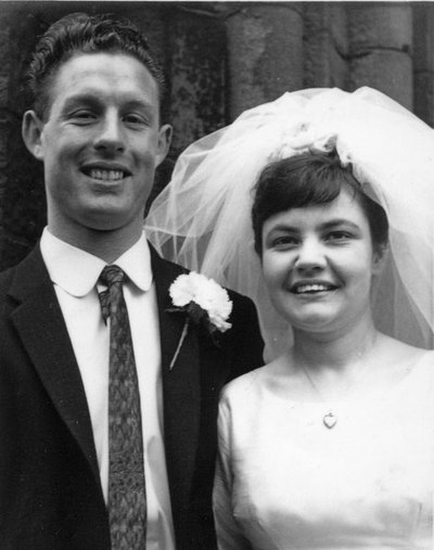 Wedding of Rowena Middleton and Peter Clarke at St George's Church