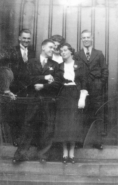 Parents of Rowena Middleton, James Middleton and Elizabeth Morton.