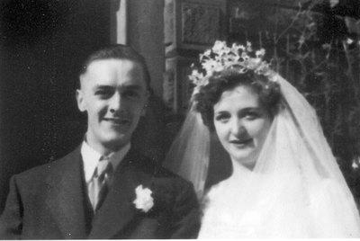 Wedding of June Bottomley and Joe Livesley