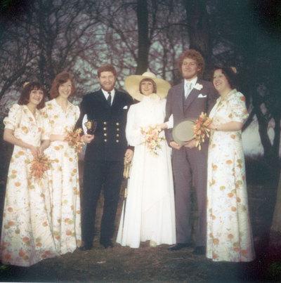 Wedding of Judith Beardwood and Michael Collins