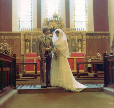 Wedding of Patricia Riddick and Andrew Sherwood