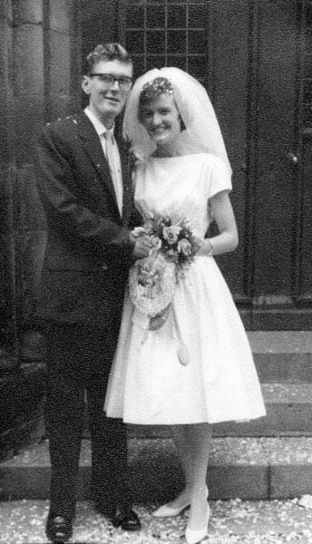 Wedding of Edward White and Maureen Green