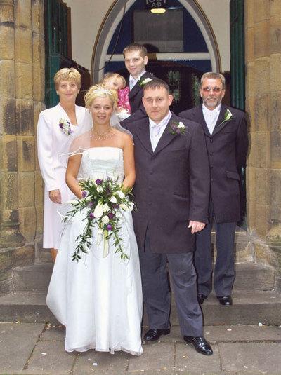 Wedding of Rachael Crossland and Stephen Brownhill