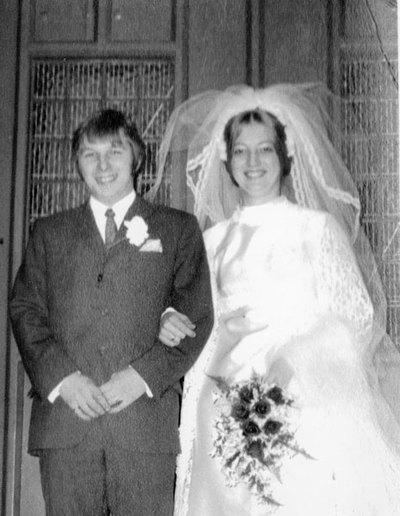 Wedding of Pauline German and Eric Crossland