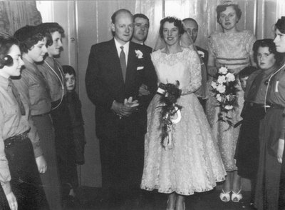 Wedding of Rita Perry and Eric Hill
