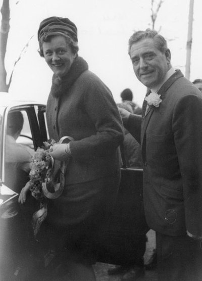 Wedding of Mary Hill, sister of Eric, and Tom Melbourne.