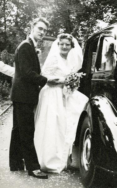 Wedding of Joyce McNee and Malcolm Moss