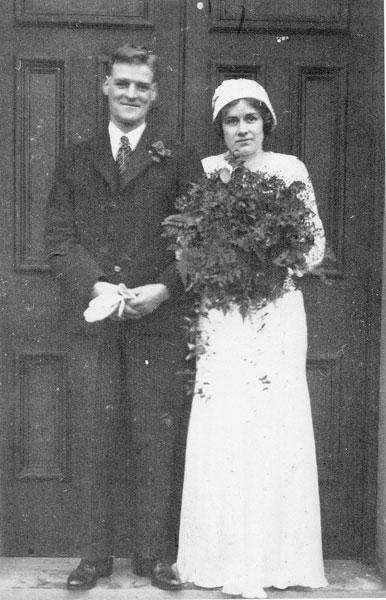Wedding of Isabella Hammond and John Henry Barton