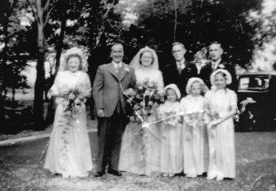 Wedding of Barbara Ashworth and Hugh Duckworth