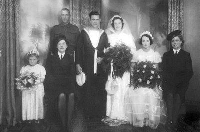Wedding of Barbara Hill and Alan Surfleet