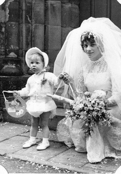 Wedding of John Holgate and Jean Tague